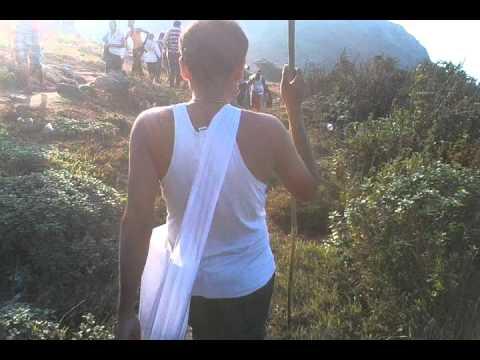 Ramsang and vivekmani at velliangiri hills