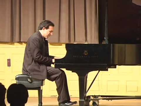 Max Levinson plays Schumann's Kinderszenen (Scenes from Childhood), Op. 15 Part 1