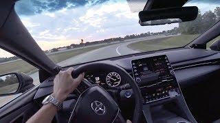 2019 Toyota Avalon Hybrid XSE - POV Test Drive & Walkaround (Binaural Audio)
