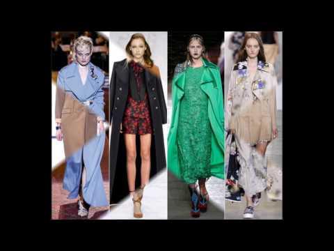Модные пальто весны 2017: ключевые тенденции