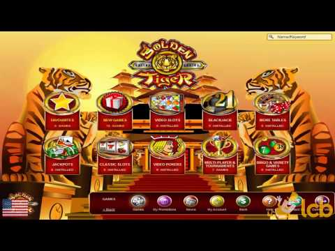 Golden Tiger Casino Video Review