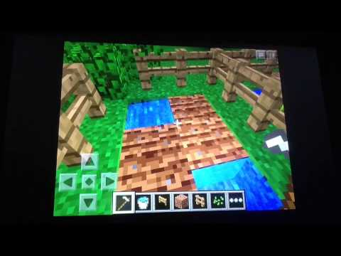 How to get, plant, and grow seeds in Minecraft PE - YouTube