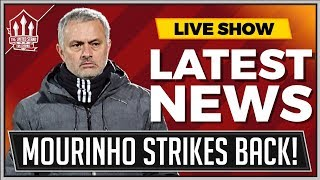 Mourinho Attacks Brainless Manchester United Critics