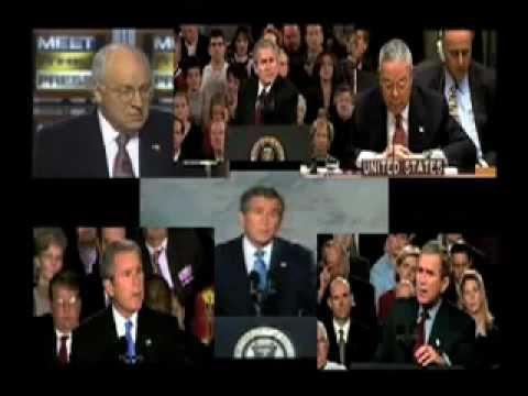 WMD LIES   Bush Cheney Rumsfeld etc    THE ULTIMATE CLIP