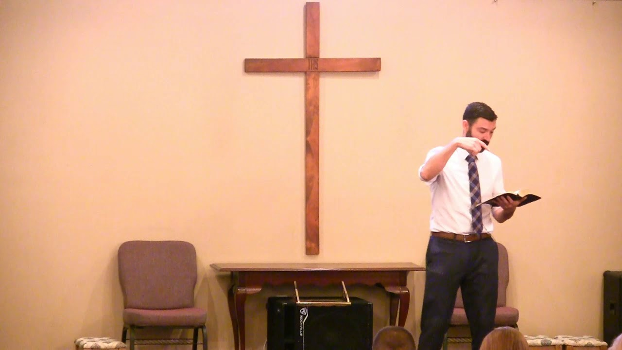 Video Sermons - Ephesians 2 Verse 20 - God's Workmanship - New Hope Christian Chapel