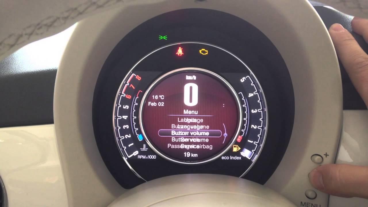 Lampadina Luci Di Posizione : Fiat 500 day lights luci di posizione on off youtube
