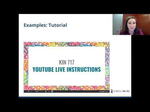 UNCG Online Learning & Innovation Webinar: Google Slides and Canvas