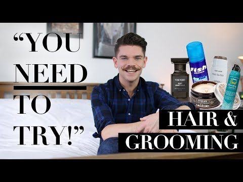 Recommended Men's Hair and Grooming Products | September 2017