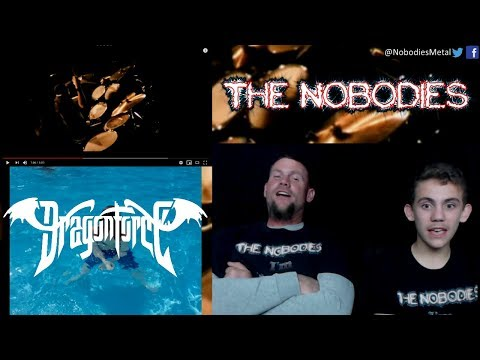 NOBODIES REACTION!!!: Through The Fire and Flames (DragonForce)