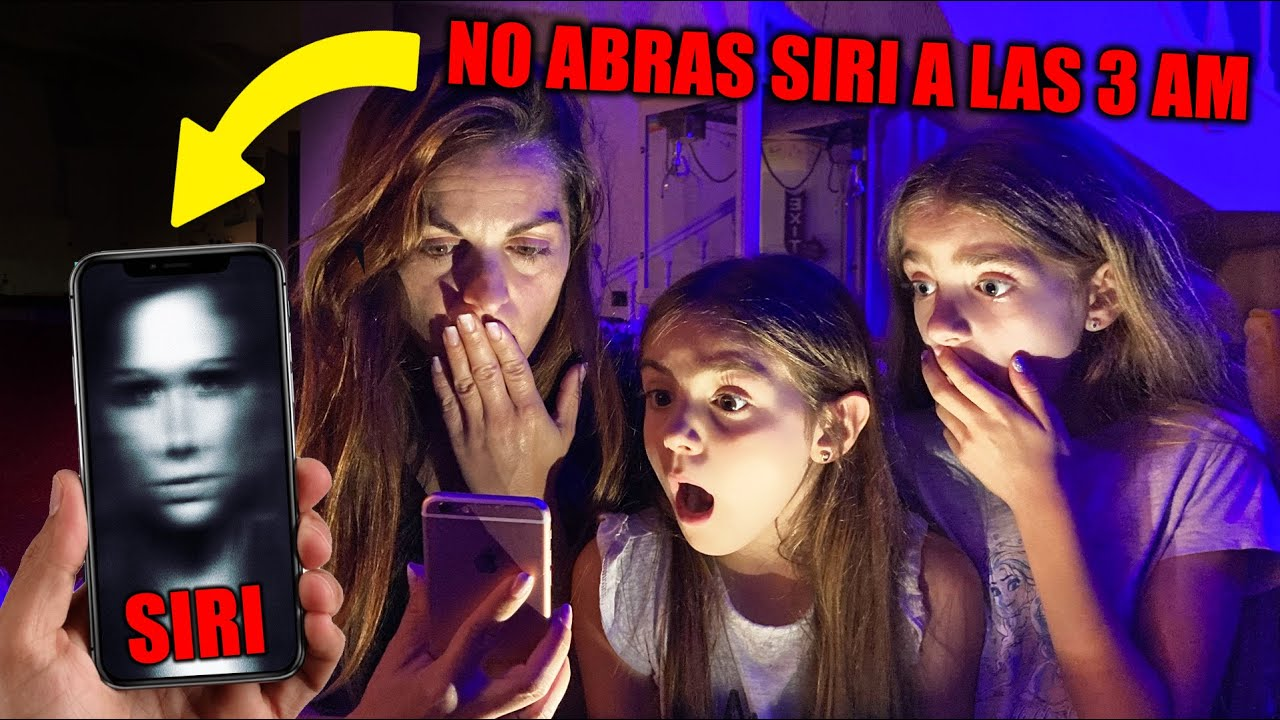 NUNCA LE HABLES A SIRI A LAS 3 AM Itarte Vlogs