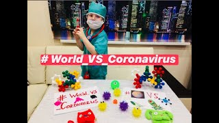 Настя поддержала заболевших Китайским коронавирус, coronavirus ТОРС