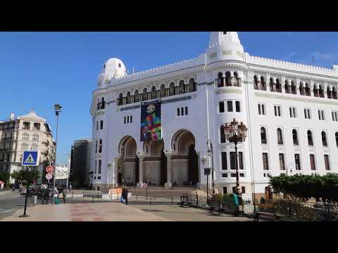 Algeria Algiers Place de la grande poste / Algérie Alger Place de la grande poste