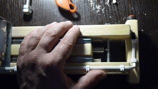 Маятниковая мини циркулярная пила своими руками. Циркулярка. Самоделки. DIY circular saw. #сделайсам