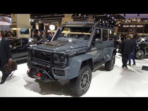 Brabus 550 Adventure 4x4 Based On Mercedes Benz G 500 4x4
