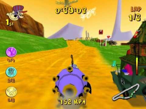 Finish Line Motors >> Wacky Races: Mad Motors (PS2 Gameplay) - YouTube