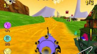 Wacky Races: Mad Motors (PS2 Gameplay)