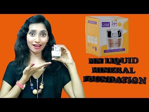 MN Liquid Mineral Foundation | Review | Long wear -24 Hours | SahiJeeth