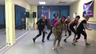 KJackson Fitness - African (Nigerian) Routine - Sawa Sawa by Flavour-