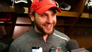 Raw: Ottawa Senators Bobby Ryan talks about the fight with former teammate Kyle Turris