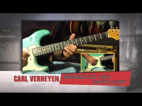 Guitar - Carl Verheyen - Dominant Key Lines from Forward Motion DVD