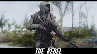 Fallout 4 Mods: The Rebel (Outfit/Armor)