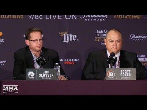 Bellator 192: Scott Coker and Jon Slusser Post-Fight Press Conference - MMA Fighting