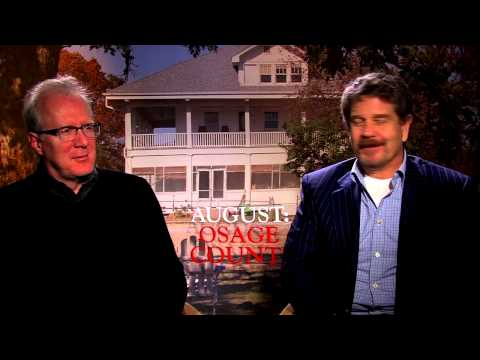 August: Osage County: John Wells & Tracy Letts Official Movie Interview