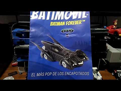 BATMOBILE BATMAN BATMOVIL HOT WHEELS COCHE METAL ESCALA COLECCION CAST 1:64