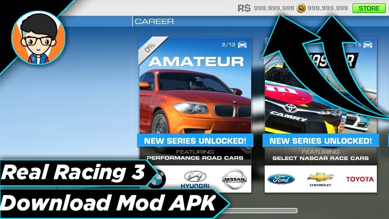 real racing graphics apk
