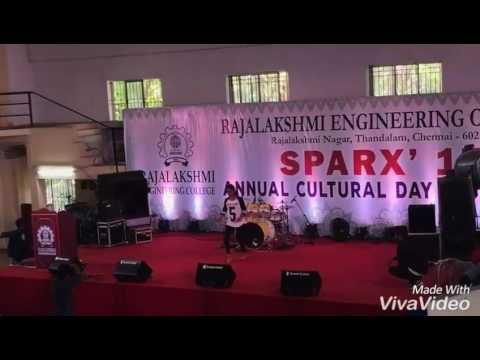 Rajalakshmi Engineering College||Cultural Day||Sparx2k17||REC||Thandalam