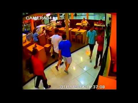 Aksi Pencurian Tas di Supermall Karawaci -- DPO CCTV4