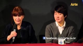 [무편집] 조성진 - 앙트르몽 기자회견장, ArteTV
