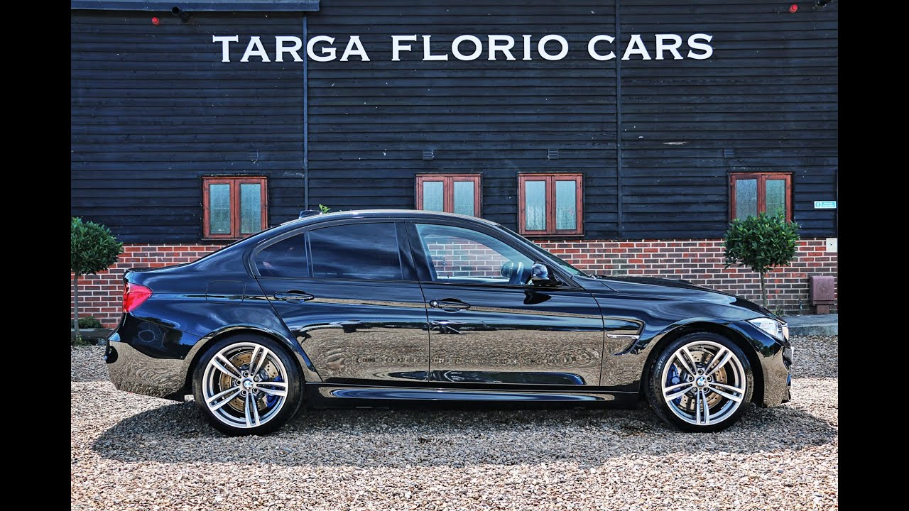 Bmw M3 Saloon 3 0 Turbo Straight 6 7 Speed Dct Automatic In Sapphire