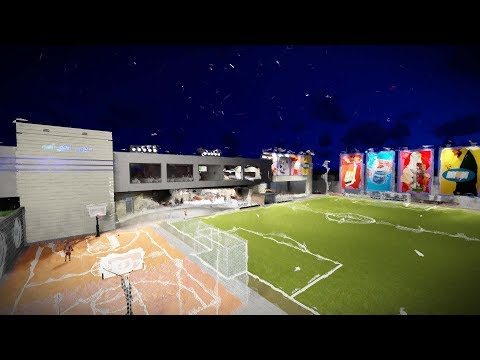 SketchUp + lumion 6 Sports Club 3D Animation