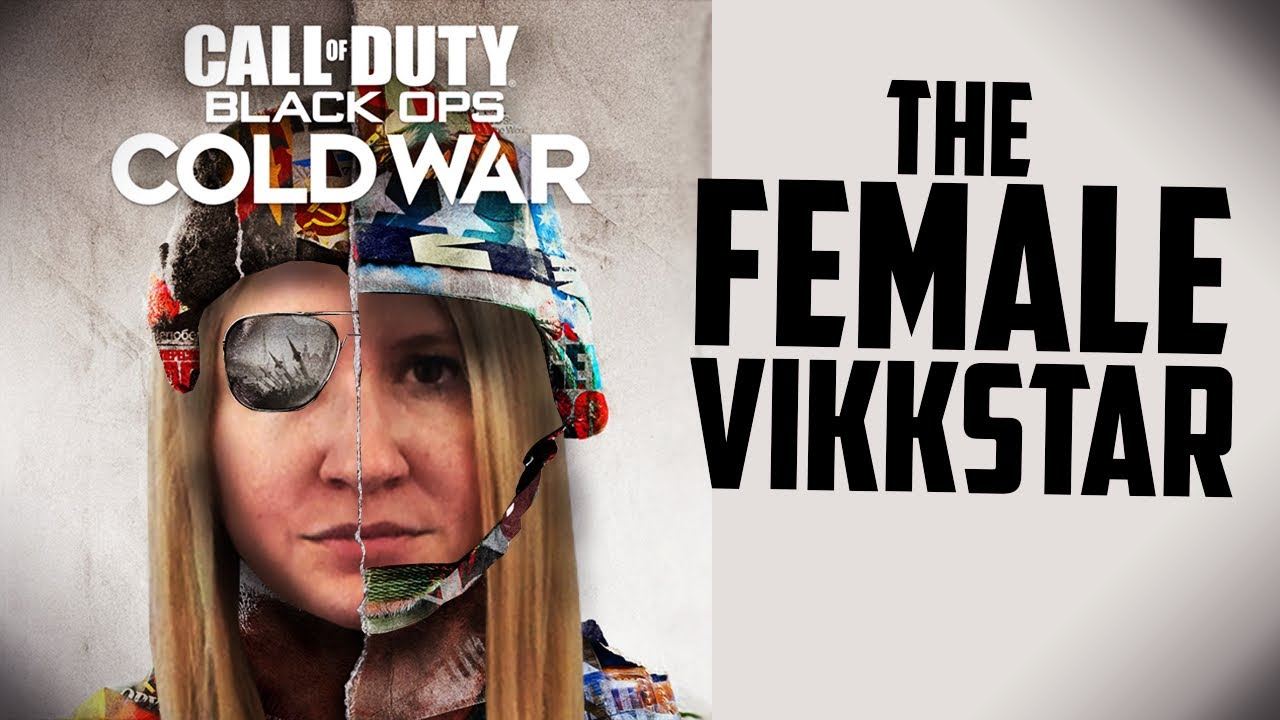 THE FEMALE VIKKSTAR AT BLACK OPS COLD WAR!!