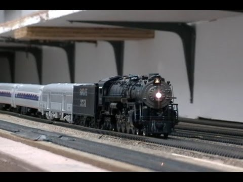 Model Railway Toy Train Scenery -Mind-Blowing Suggestions For Santa Fe 4-8-4 3751 San Diego Special HO Scale Edition
