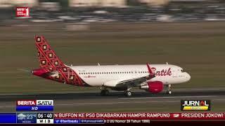 Download Video 2 Pesawat Lakukan Pendaratan Bersejarah di Bandara Kertajati MP3 3GP MP4