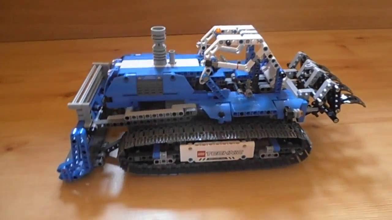 bulldozer lego technic 42042 alternative model my. Black Bedroom Furniture Sets. Home Design Ideas