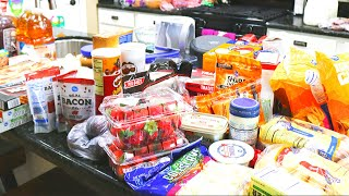 GROCERY HAUL // FAMILY OF 4 // GROCERY BUDGET