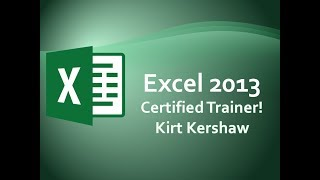 Excel 2013 Evaluate and Watch Formulas Training Video