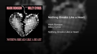 Mark Ronson & Miley Cyrus - Nothing Breaks Like a Heart (Audio)