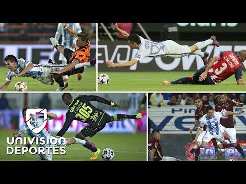 Hirving Lozano es el delantero más golpeado de la Liga MX con más de 350 faltas
