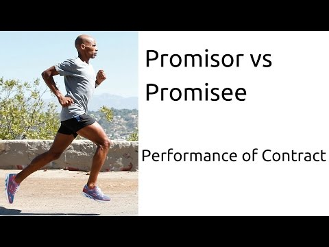 Learn Promisor Vs. Promisee | Performance Of Contract | Indian Contract | CA CPT | CS & CMA