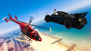 MY BEST CAR STUNT EVER?! - (GTA 5 Stunts & Fails)