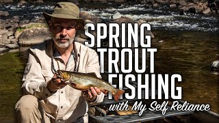Backcountry Trout Fishing in Algonquin Park & Wild Catch and Cook with My Self Reliance