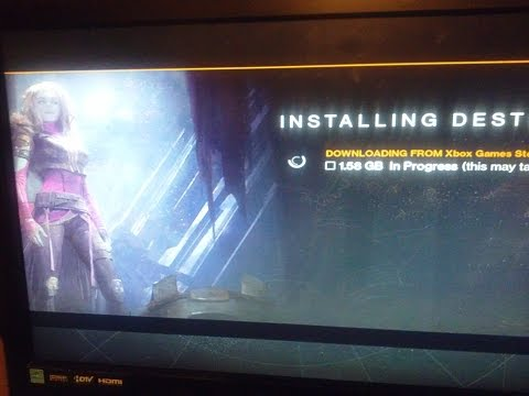 THE TAKEN KING TAKING FOR EVER TO INSTALL (DESTINY)