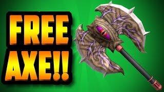 HOW TO GET A FREE CORRUPTED AXE!!! (ROBLOX ASSASSIN)