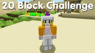 Minecraft PS4 - 20 Block Challenge - A Huge Mistake (2)