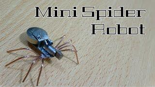 Cómo hacer un mini Robot Araña Casero