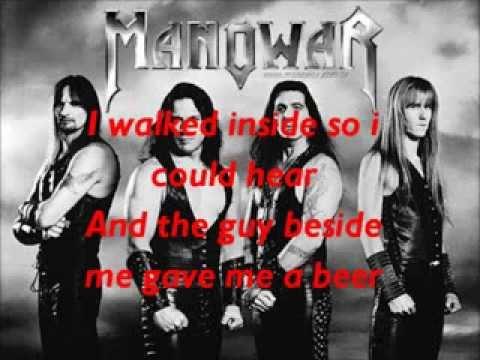 manowar  die for metal lyrics